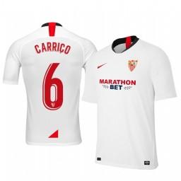 2019/20 Daniel Carrico Sevilla Home Authentic Jersey