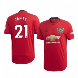 2019/20 Daniel James Manchester United Home Authentic Jersey