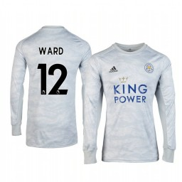 2019/20 Leicester City Danny Ward Grey Goalkeeper Long Sleeve Authentic Jersey