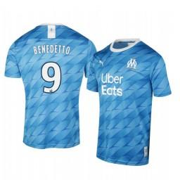 2019/20 Olympique de Marseille Dario Benedetto Away Authentic Jersey