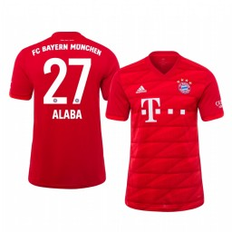2019/20 Bayern Munich David Alaba Home Authentic Jersey