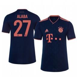 2019/20 Bayern Munich David Alaba Authentic Jersey Alternate Third