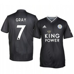 2019/20 Demarai Gray Leicester City Third Short Sleeve Authentic Jersey