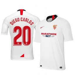 2019/20 Diego Carlos Sevilla Home Authentic Jersey