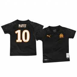 Youth 2019/20 Olympique de Marseille Dimitri Payet Authentic Jersey Alternate Third