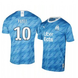 2019/20 Olympique de Marseille Dimitri Payet Away Authentic Jersey