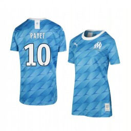 Women's 2019/20 Olympique de Marseille Dimitri Payet Away Replica Jersey