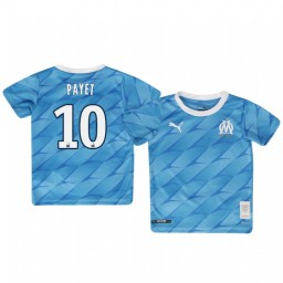 Youth 2019/20 Olympique de Marseille Dimitri Payet Away Authentic Jersey