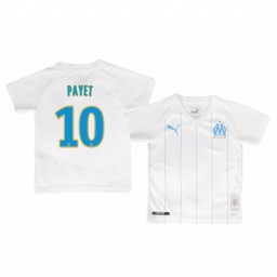 Youth 2019/20 Olympique de Marseille Dimitri Payet Home Authentic Jersey