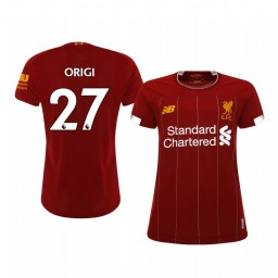 Women's 2019/20 Divock Origi Liverpool Home Authentic Jersey