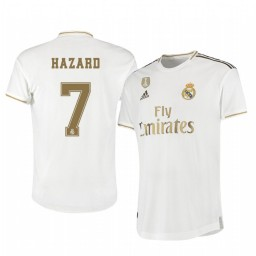 2019/20 Eden Hazard Real Madrid Home Authentic Jersey