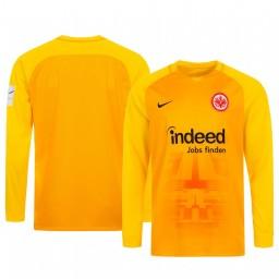 2019/20 Eintracht Frankfurt Orange Goalkeeper Long Sleeve Authentic Jersey