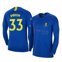 2019/20 Emerson Palmieri Chelsea Blue Fourth Authentic Jersey