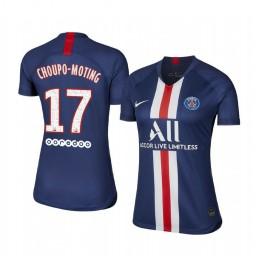 Women's 2019/20 Paris Saint-Germain Eric Maxim Choupo-Moting Home Authentic Jersey