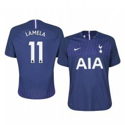 2019/20 Erik Lamela Tottenham Hotspur Away Short Sleeve Authentic Jersey