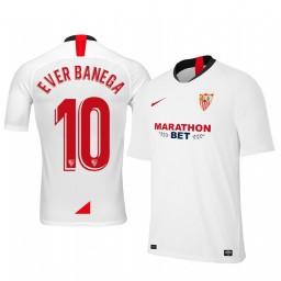 2019/20 Ever Banega Sevilla Home Authentic Jersey