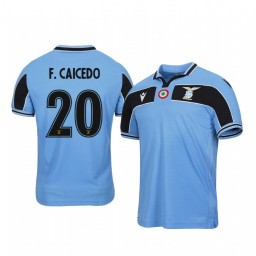 2019/20 Felipe Caicedo Lazio Light Blue 120th Anniversary Celebration Authentic Jersey