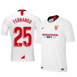 2019/20 Fernando Sevilla Home Authentic Jersey