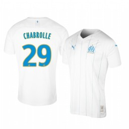 2019/20 Olympique de Marseille Florian Chabrolle Home Authentic Jersey