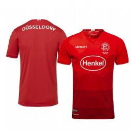 2019/20 Fortuna Düsseldorf Away Red Short Sleeve Authentic Jersey