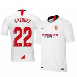 2019/20 Franco Vazquez Sevilla Home Authentic Jersey