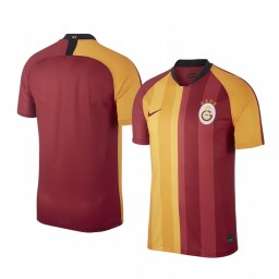 2019/20 Galatasaray Red Yellow Home Short Sleeve Authentic Jersey