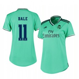 Women's 2019/20 Real Madrid Gareth Bale Authentic Jersey Alternate Third
