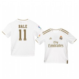 Youth 2019/20 Gareth Bale Real Madrid Home Authentic Jersey