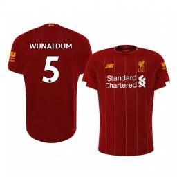 2019/20 Georginio Wijnaldum Liverpool Home Short Sleeve Authentic Jersey