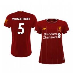 Women's 2019/20 Georginio Wijnaldum Liverpool Home Short Sleeve Authentic Jersey