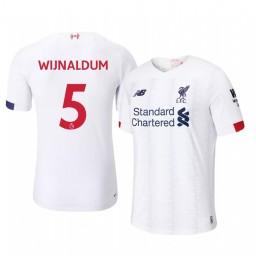 2019/20 Georginio Wijnaldum Liverpool Away Short Sleeve Authentic Jersey