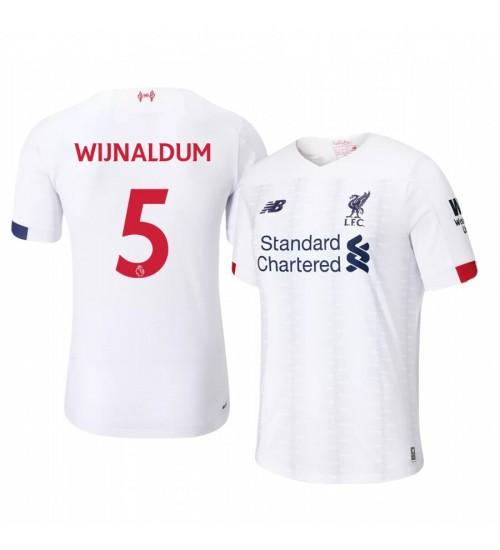 2019/20 Georginio Wijnaldum Liverpool Away Short Sleeve Replica Jersey