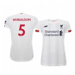 Women's 2019/20 Georginio Wijnaldum Liverpool Away Short Sleeve Authentic Jersey