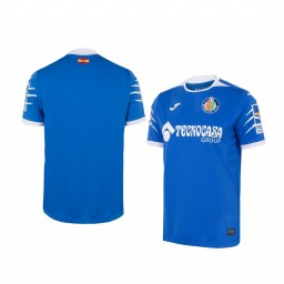 Youth 2019/20 Getafe Blue Home Short Sleeve Authentic Jersey