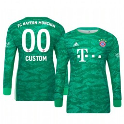 2019/20 Bayern Munich Custom Official Goalkeeper Home Authentic Jersey