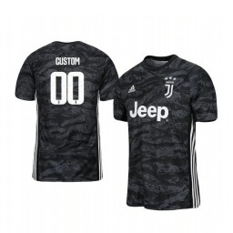 2019/20 Juventus Custom Official Goalkeeper Home Authentic Jersey