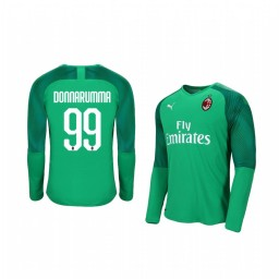 2019/20 AC Milan Gianluigi Donnarumma Official Goalkeeper Home Authentic Jersey