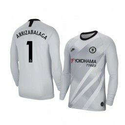 2019/20 Chelsea Kepa Arrizabalaga Stadium Goalkeeper Long Sleeve Authentic Jersey