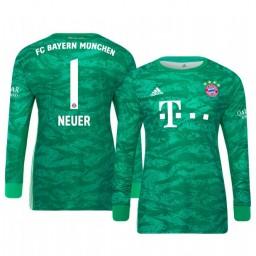 2019/20 Bayern Munich Manuel Neuer Official Goalkeeper Home Authentic Jersey