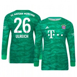 2019/20 Bayern Munich Sven Ulreich Official Goalkeeper Home Authentic Jersey