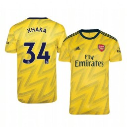 2019/20 Granit Xhaka Arsenal Away Short Sleeve Authentic Jersey