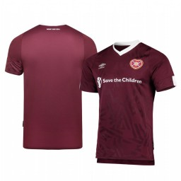 2019/20 Heart of Midlothian Home Authentic Short Sleeve Authentic Jersey