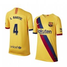 2019/20 Barcelona Ivan Rakitic Away Short Sleeve Authentic Jersey