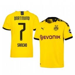 2019/20 Borussia Dortmund Jadon Sancho Home Authentic Jersey