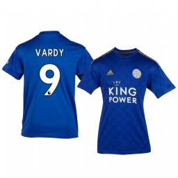 Youth 2019/20 Jamie Vardy Leicester City Home Authentic Jersey
