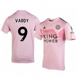 2019/20 Jamie Vardy Leicester City Away Short Sleeve Authentic Jersey