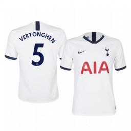 2019/20 Jan Vertonghen Tottenham Hotspur Home Short Sleeve Authentic Jersey