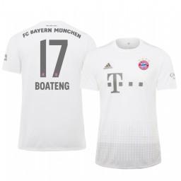 2019/20 Bayern Munich Jerome Boateng White Away Authentic Jersey