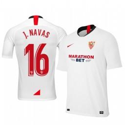 2019/20 Jesus Navas Sevilla Home Authentic Jersey
