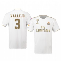 2019/20 Jesus Vallejo Real Madrid Home Authentic Jersey